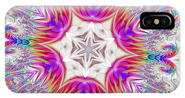 Paisley Love Kaleidoscope IPhone Case
