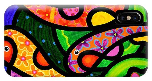Paisley Pond - Horizontal IPhone Case