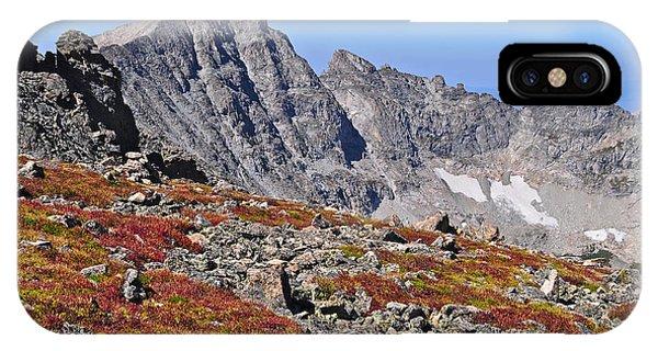Indian Peaks Wilderness iPhone Case - Paiute Peak by Aaron Spong
