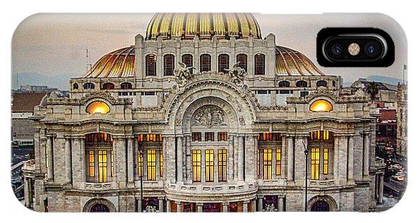 Palacio De Bellas Artes IPhone Case