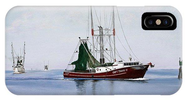 Palacios Boats IPhone Case