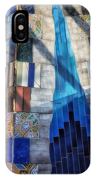 Gaudi iPhone Case - Palau Guell by Joan Carroll