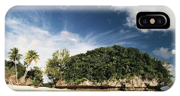 Micronesia iPhone Case - Palau, Micronesia, View Of Honeymoon by Stuart Westmorland