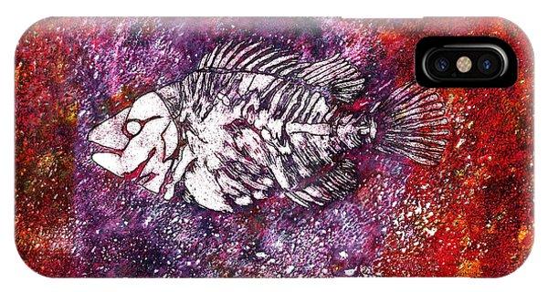 Paleo Fish IPhone Case