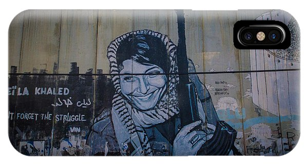 Palestinian Graffiti IPhone Case