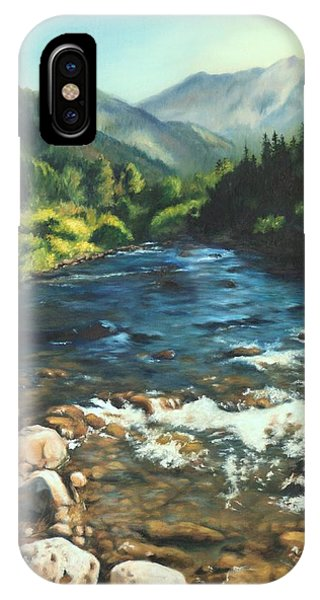 Palisades Creek  IPhone Case