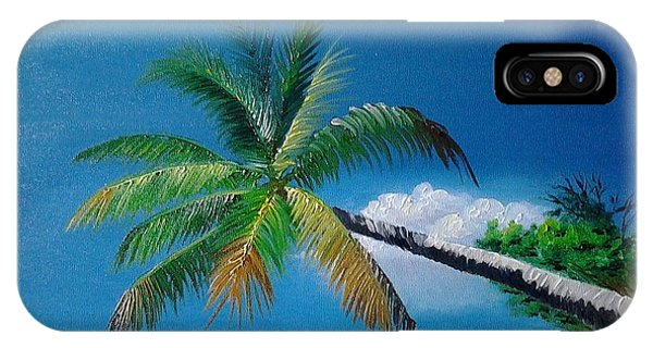 Palm And Shadow IPhone Case