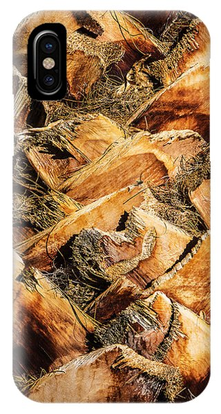 Palm Bark IPhone Case