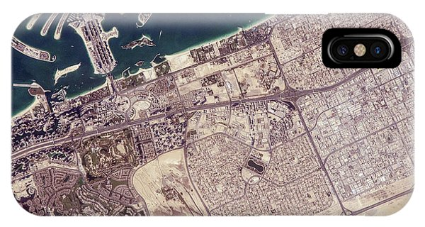 Archipelago iPhone Case - Palm Jumeirah by Nasa