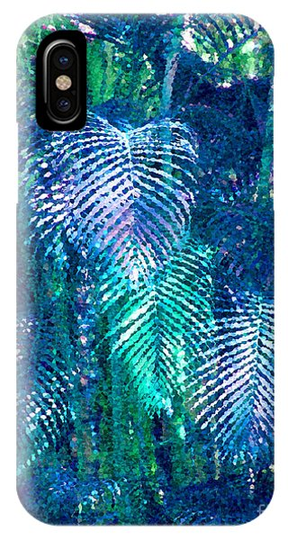 Palm Leaves Phone Case by Mariarosa Rockefeller