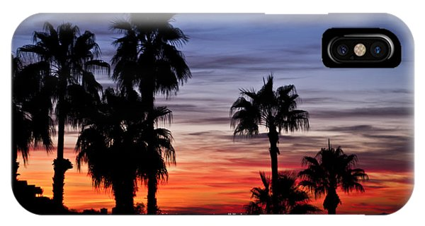 Palm Shadows IPhone Case