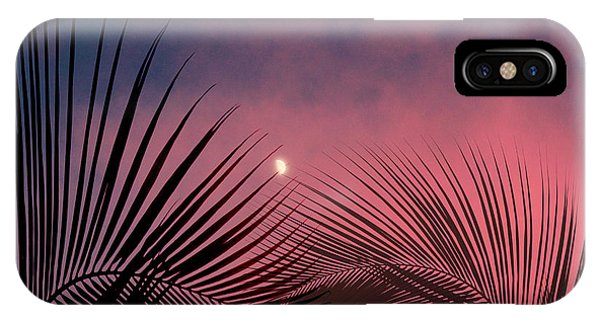 Palm Sunset IPhone Case