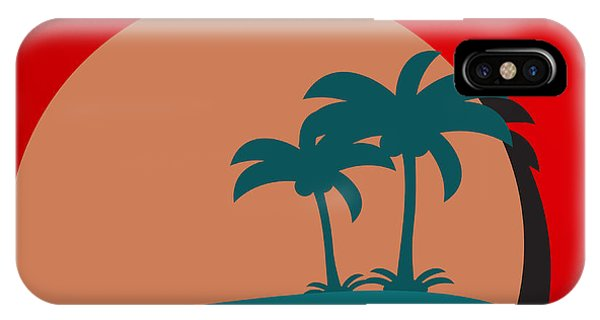 Hot iPhone Case - Palm Trees by Berkut