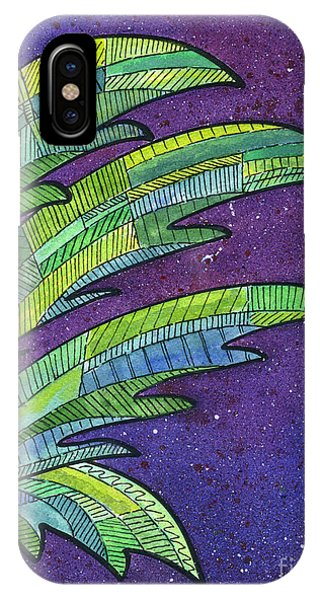 Palms Against The Night Sky IPhone Case