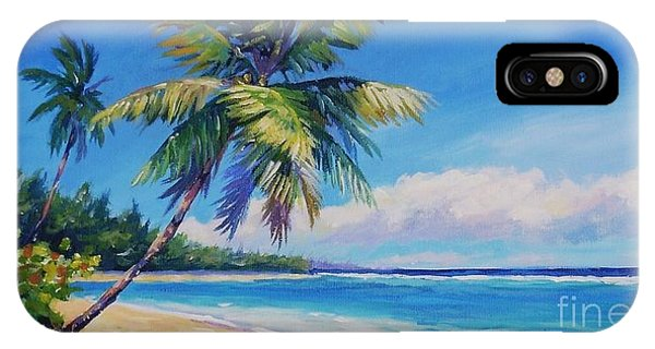 Bahamas iPhone Case - Palms On Tortola by John Clark