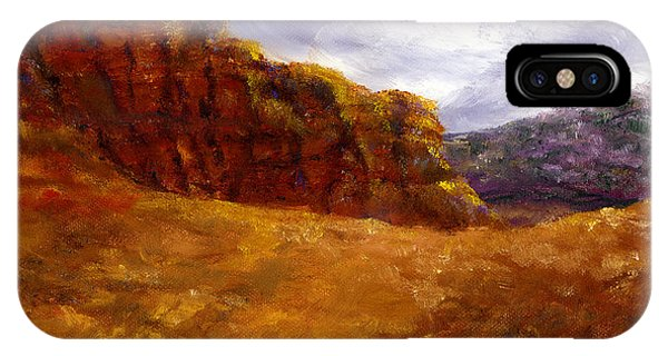 Palo Duro Canyon Texas Hand Painted Art IPhone Case