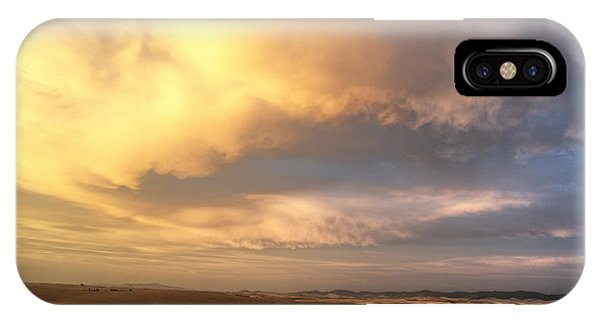 Palouse August Sunset IPhone Case