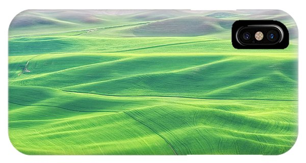 Palouse In Spring IPhone Case