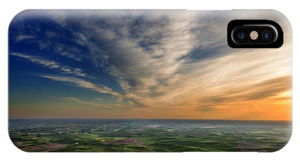 Palouse Sunset IPhone Case