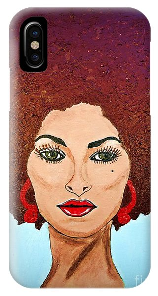 Pam Grier C1970 The Original Diva IPhone Case