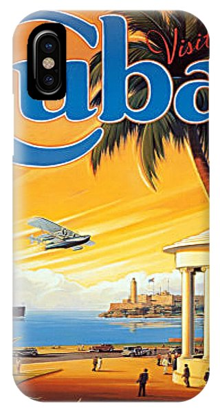 Pan Am Cuba  IPhone Case