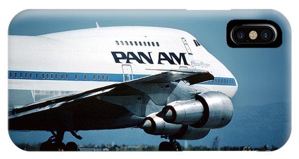 Pan Boeing 747-sp21 N540pa IPhone Case