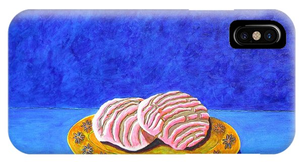 Pan Dulce Azul IPhone Case