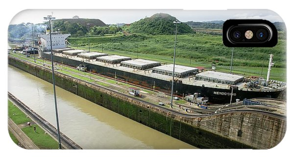 Psi iPhone Case - Panama Canal by Photostock-israel