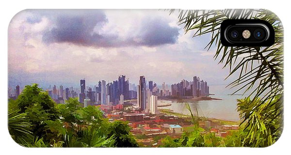 Panama City From Ancon Hill IPhone Case