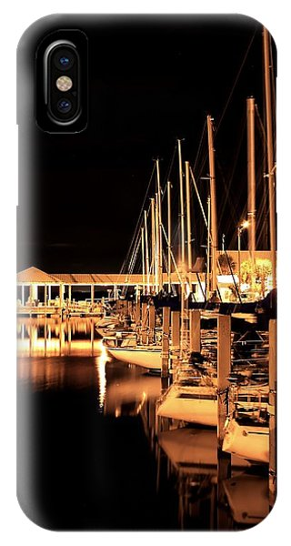 Panama City Marina IPhone Case