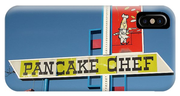 Seattle iPhone X Case - Pancake Chef by Jim Zahniser