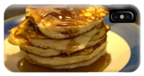 Pancakes For Breakfast IPhone Case