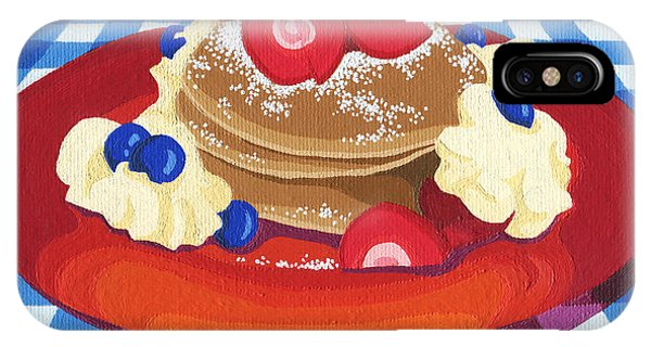 Pancakes Week 10 IPhone Case