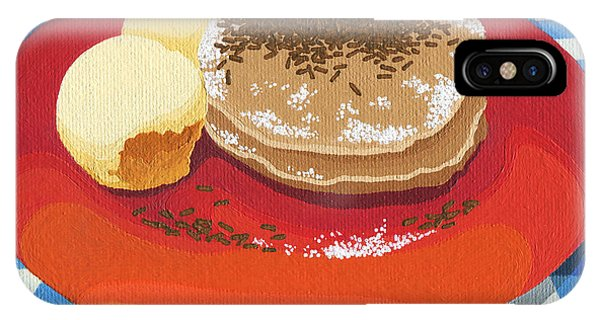 Pancakes Week 15 IPhone Case