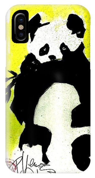 Panda Haiku IPhone Case