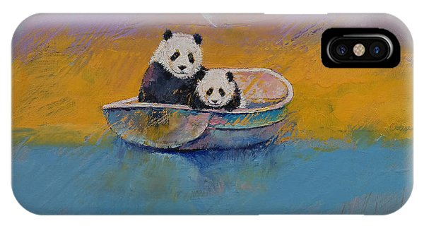 Panda Lake IPhone Case