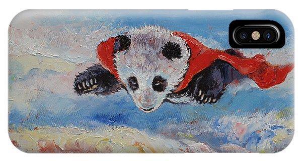 Panda Superhero IPhone Case