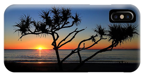 Pandanus Sunrise IPhone Case
