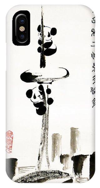 Pandas Love Toronto IPhone Case