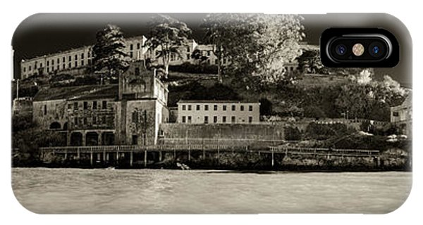 Panorama Alcatraz Up Close IPhone Case