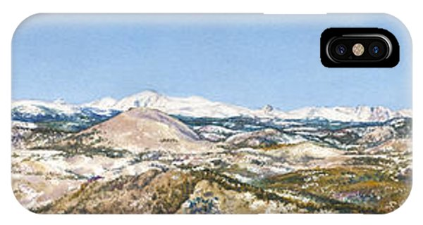 Panorama From Flagstaff Mountain Phone Case by Anne Gifford