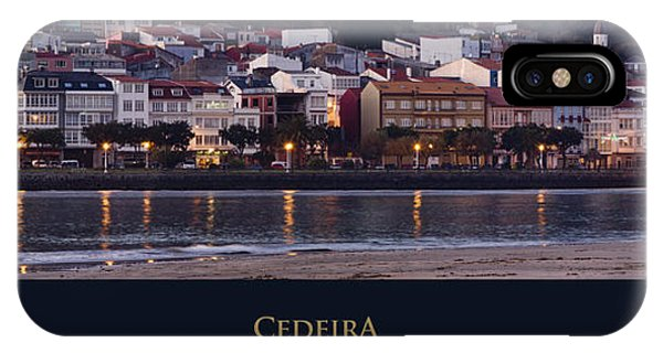 Panorama Of Cedeira Galicia Spain IPhone Case