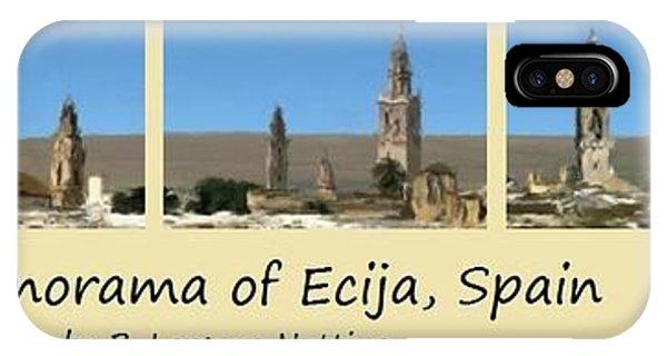 Panorama Of Ecija Spain IPhone Case
