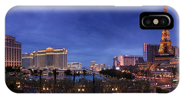Panorama Of Las Vegas IPhone Case