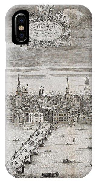 Panorama Of London IPhone Case
