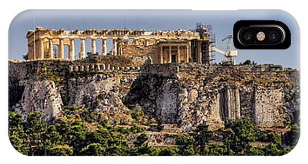 Panorama Of The Acropolis In Athens IPhone Case