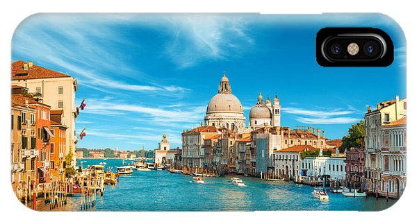 Panorama Of The Basilica Santa Maria Della Salute IPhone Case