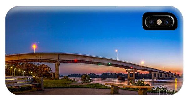 Panorama Of The Garrison Ave. Bridge  IPhone Case
