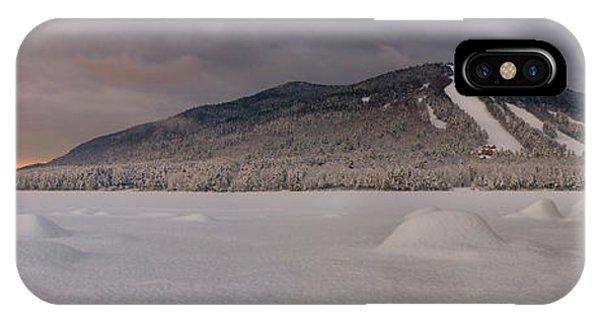 Panoramic Of Shawnee Peak And Moose Pond IPhone Case