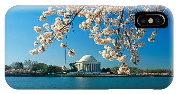 Panoramic View Of Jefferson Memorial IPhone Case